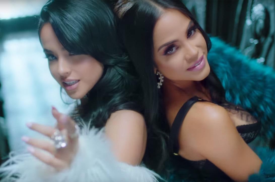 Becky G and Natti Natasha's 'Sin Pijama' Tops Latin Airplay Chart