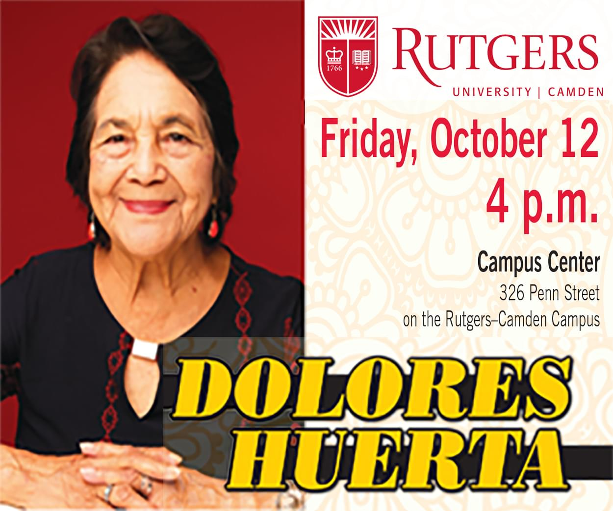Lecture By: Dolores Huertas