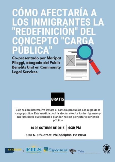 Ceiba y EILS organizan una sesión informativa sobre la carga pública