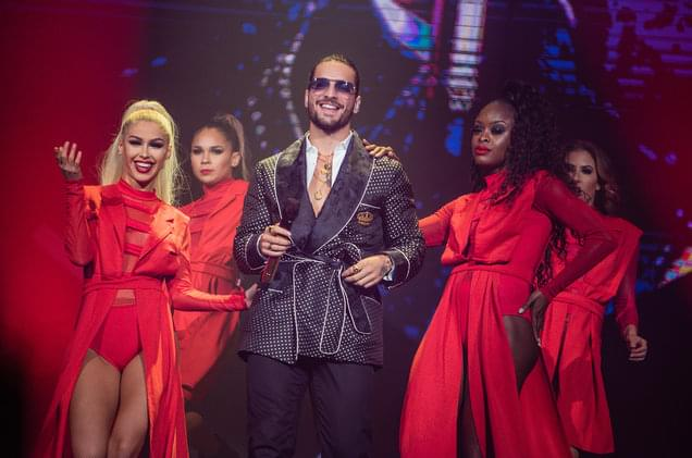Maluma Returns to Colombia For Epic Bogota Show: See Pics