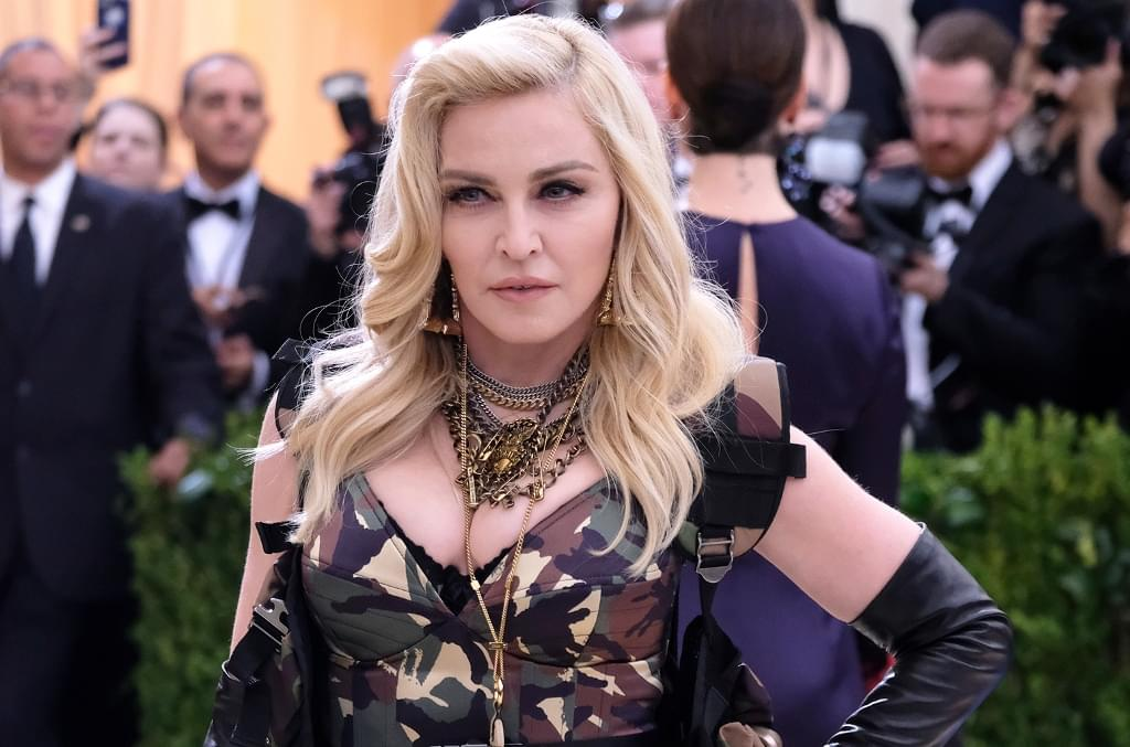 Madonna and Maluma Hit the Recording Studio: See the Photos