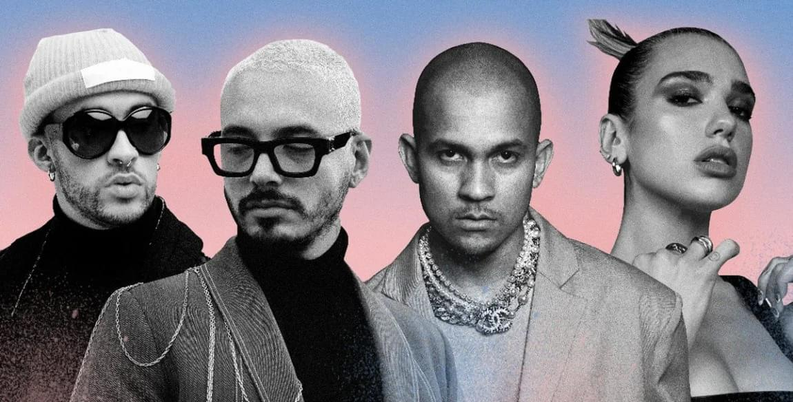 J Balvin, Bad Bunny, Tainy & Dua Lipa Join Forces on Transcendental 'Un Día (One Day)'