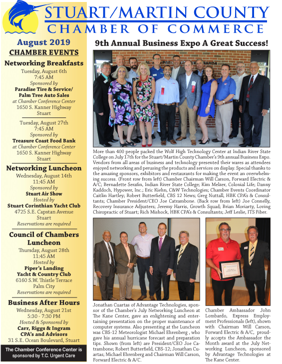 Martin County Chamber Trends