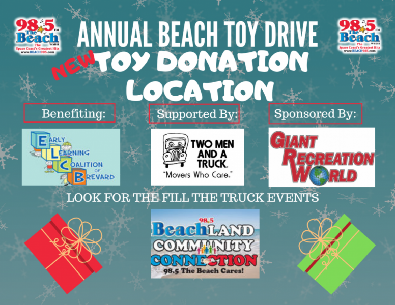 Annual Beach Toy Drive      Fill-The-Truck