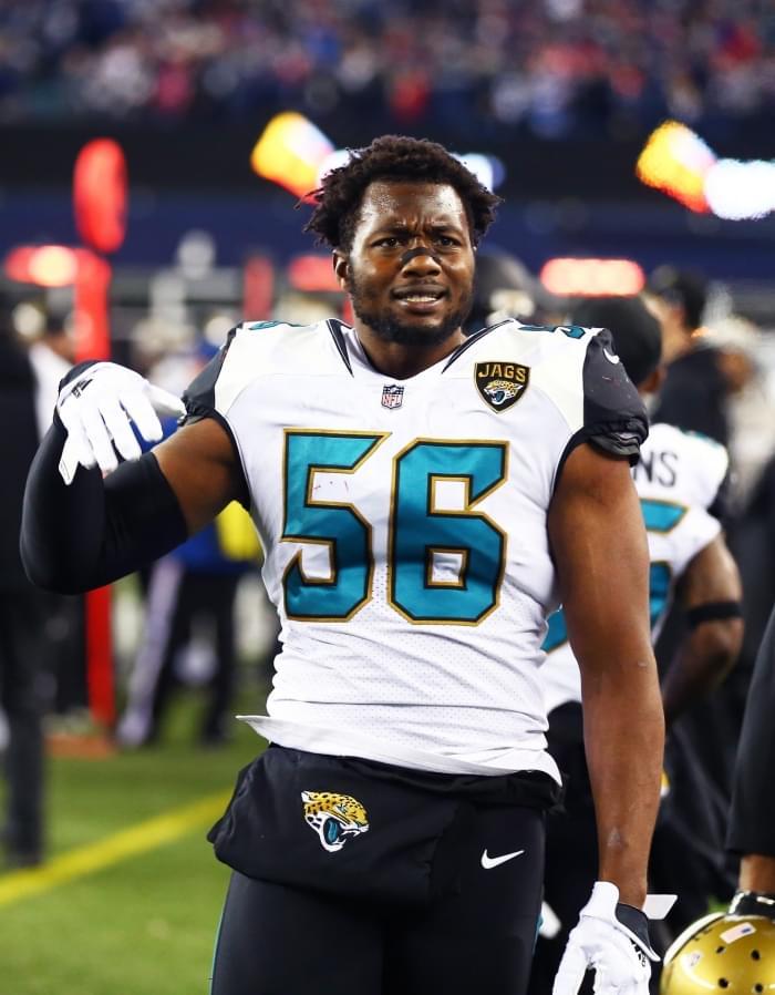Jaguars DE Dante Fowler's health a concern