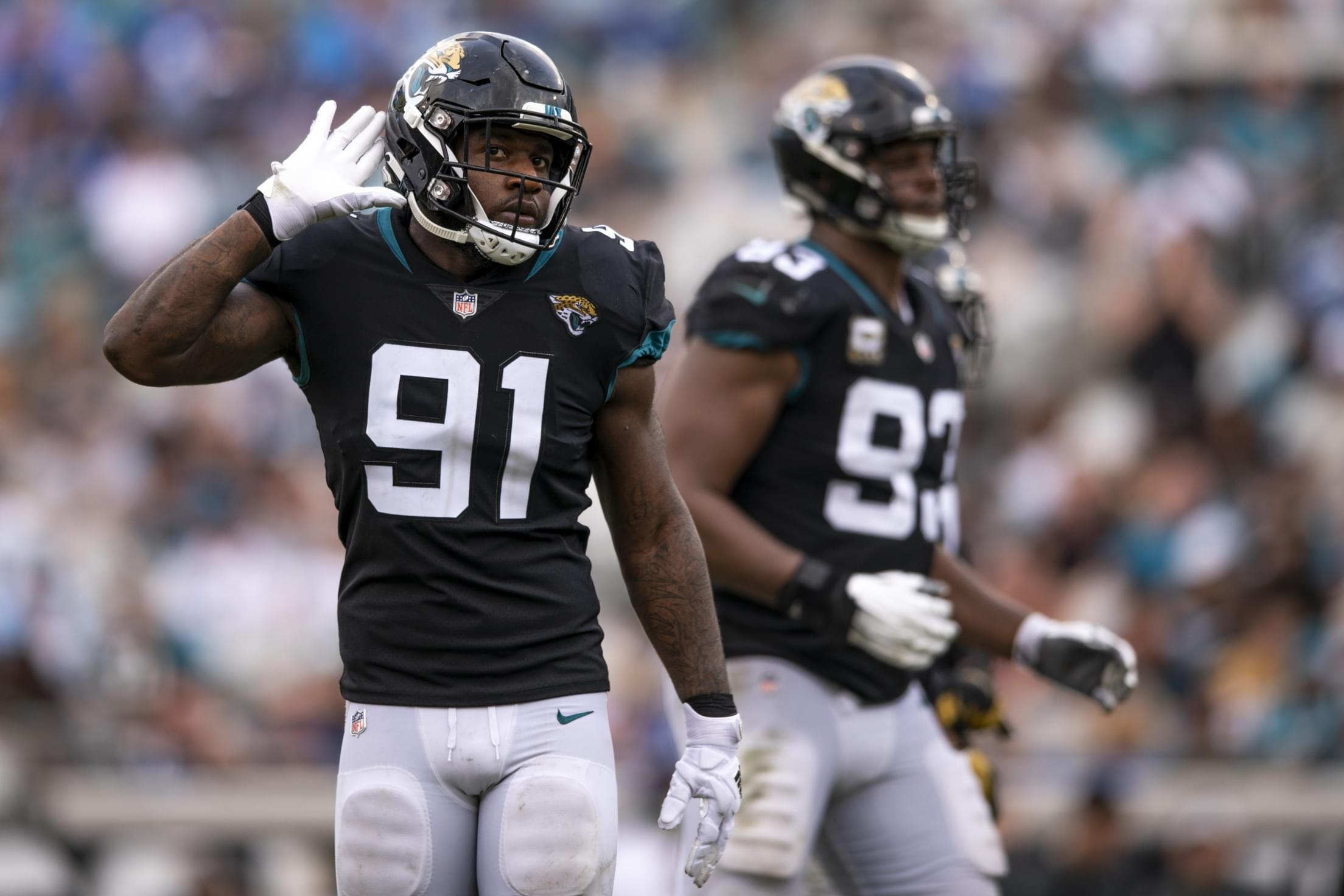 Trading Yannick Ngakoue just got a lot harder for the Jaguars