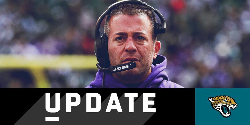 Jaguars name John DeFilippo offensive coordinator