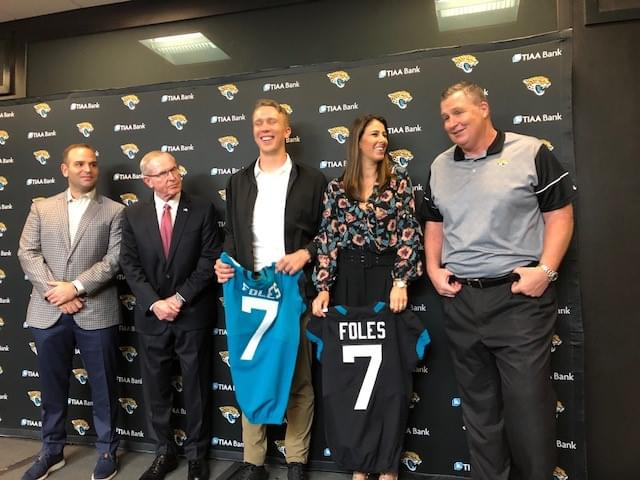 Nick Foles becomes the $50-million mistake for the Jaguars