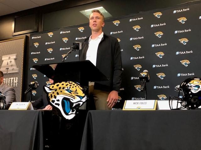 Doug Marrone picks Nick Foles as Jaguars starting QB over Gardner Minshew
