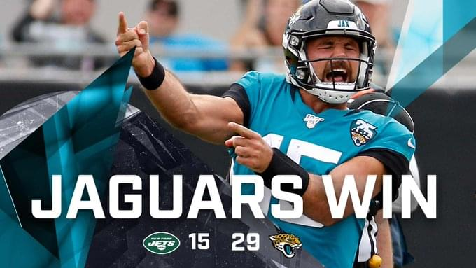 Gardner Minshew flashes brilliance again as Jaguars beat Jets