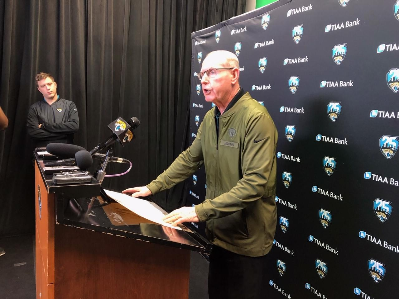 Tom Coughlin asks fans to support Jaguars, but offers them no explanations