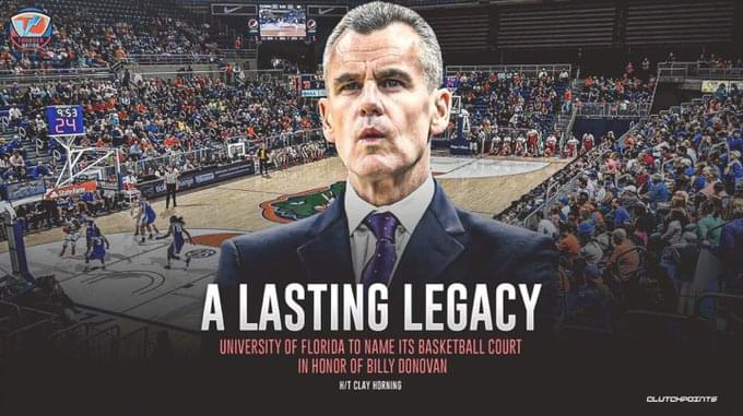 Former Gator Athletic Director Jeremy Foley shares memories of Billy Donovan