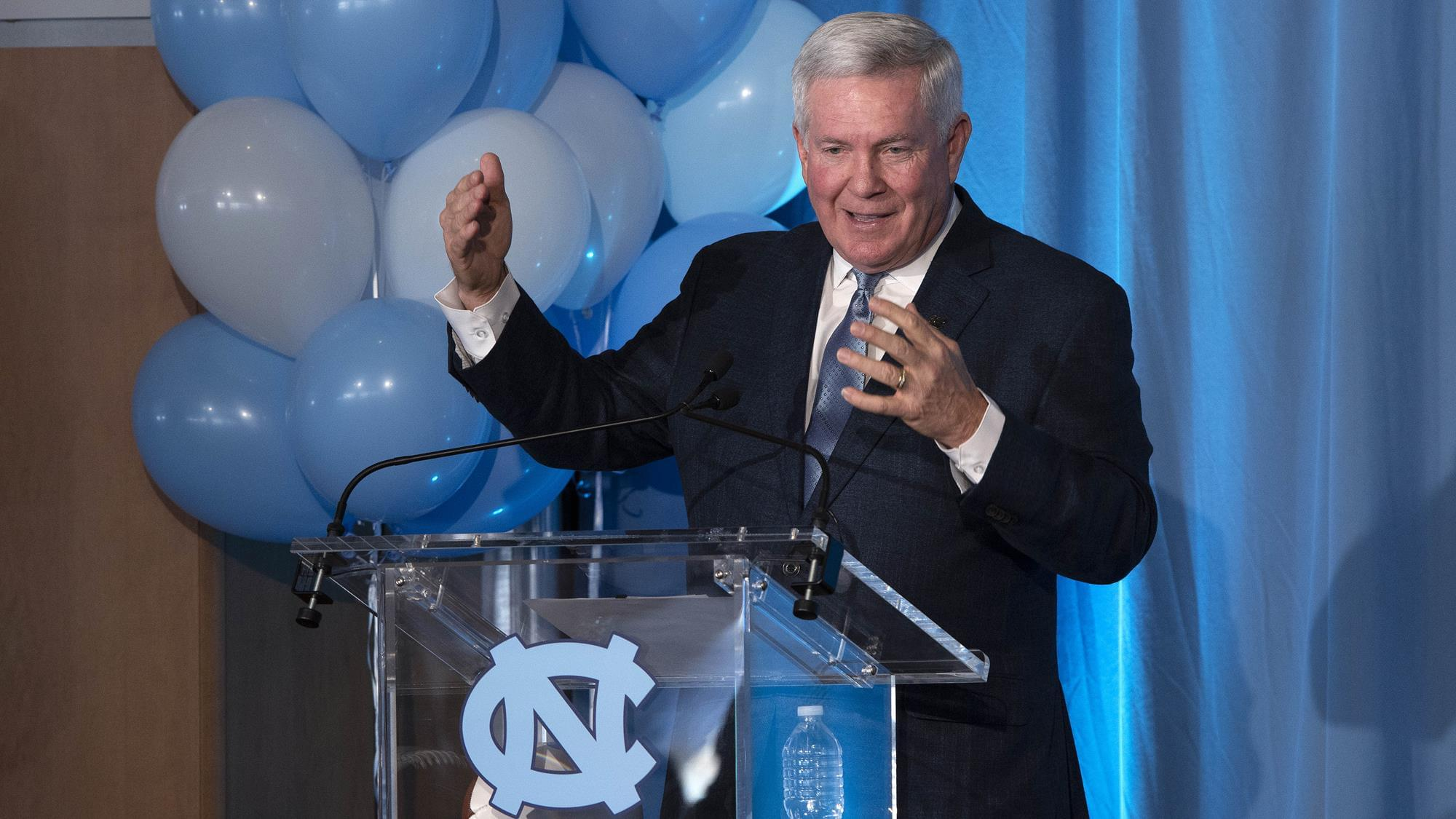 Mack Brown explains how college coaches are working around coronavirus