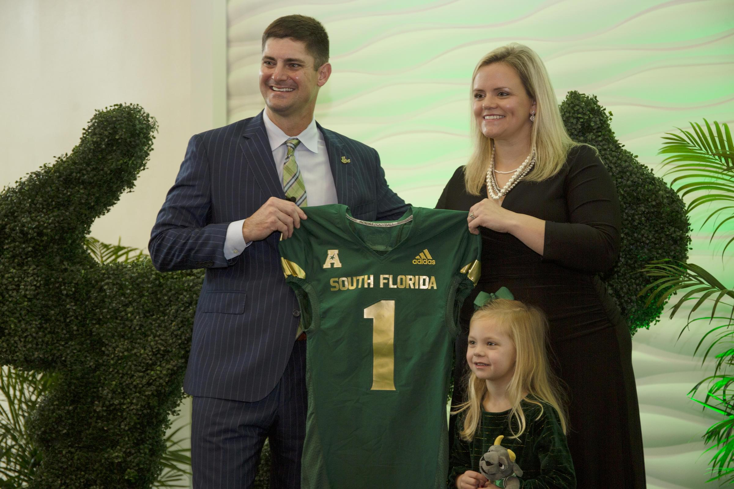 From Clemson to USF, Jeff Scott looking forward to challenge