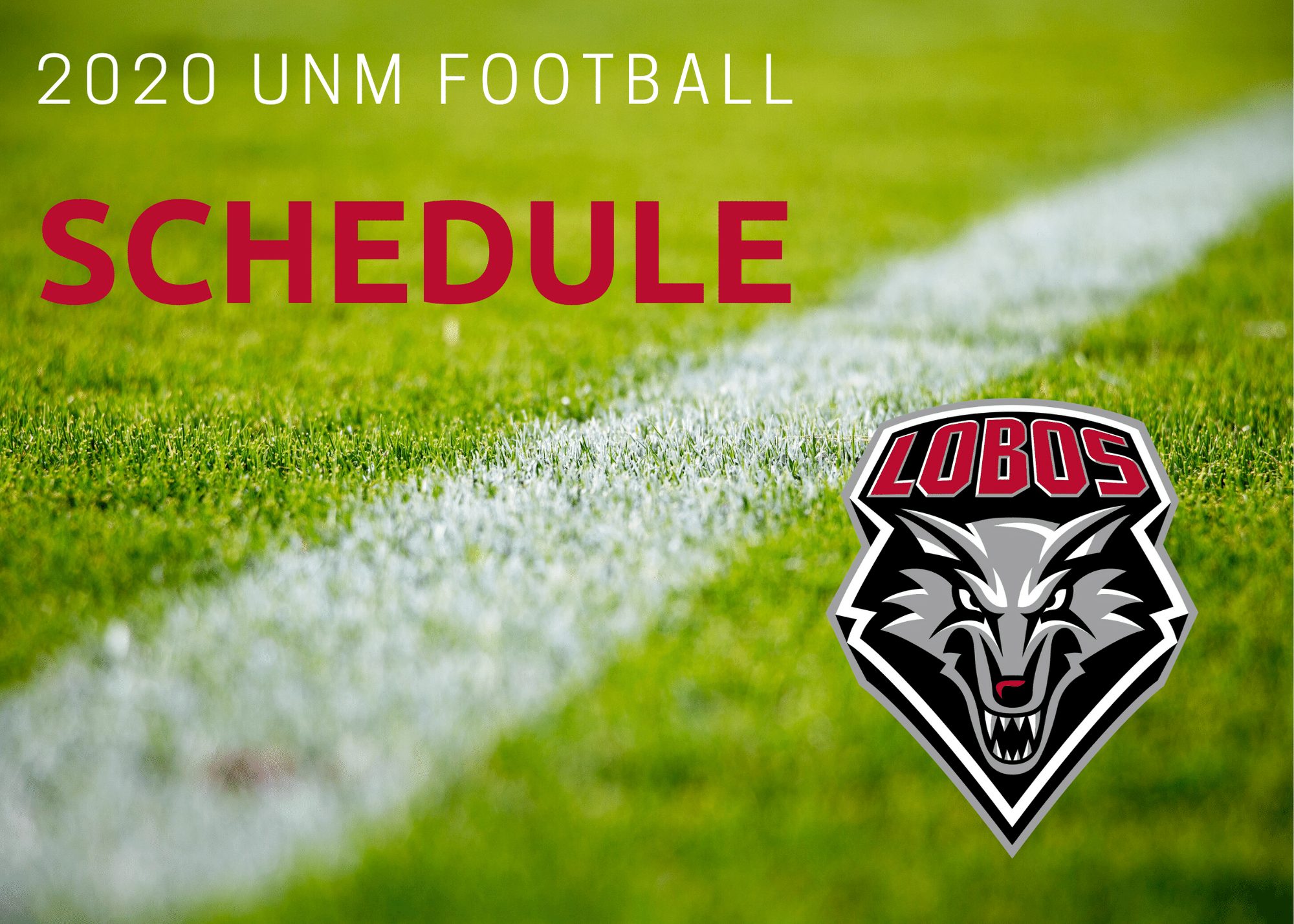 UNM Football: 2020 Lobo football schedule released