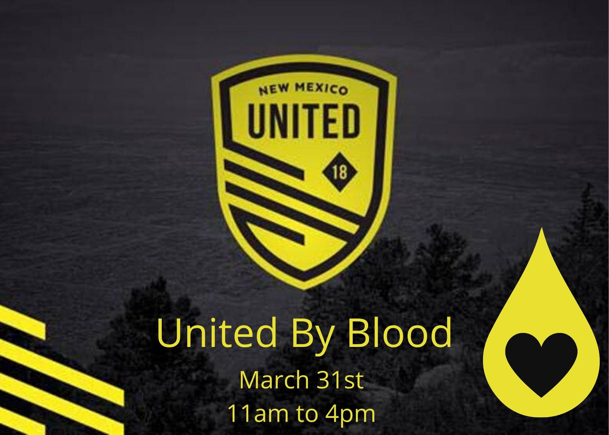New Mexico United to hold a blood drive initiative