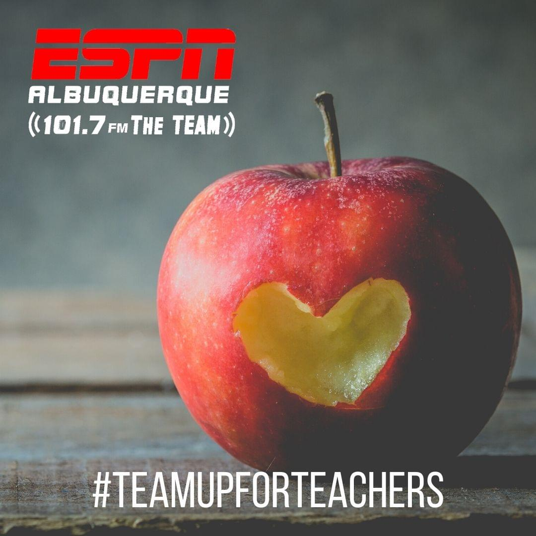 TEAM Up For Teachers Winners
