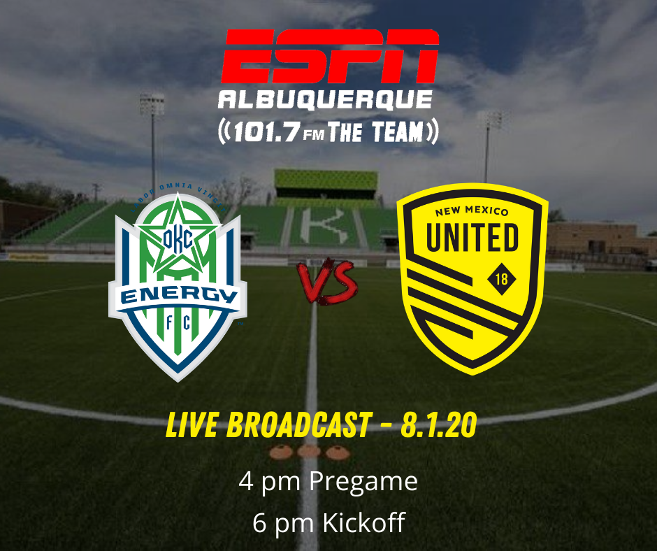 New Mexico United face first non-group opponent OKC Energy FC