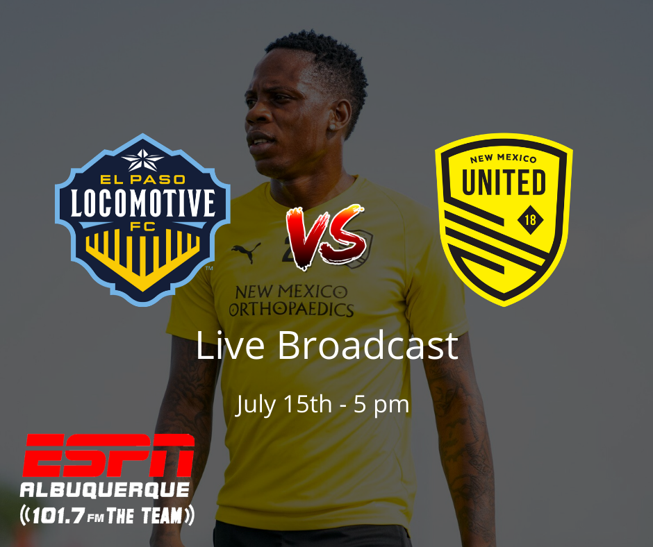 New Mexico United head south for two matches with El Paso Locomotive FC
