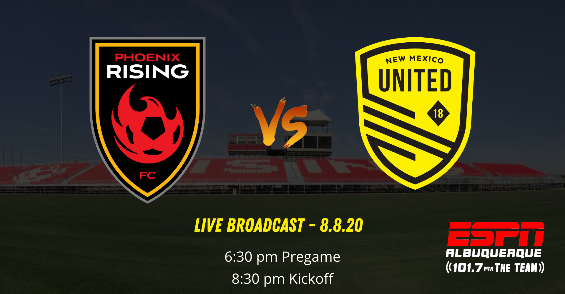 New Mexico United continue road trip against Phoenix Rising FC