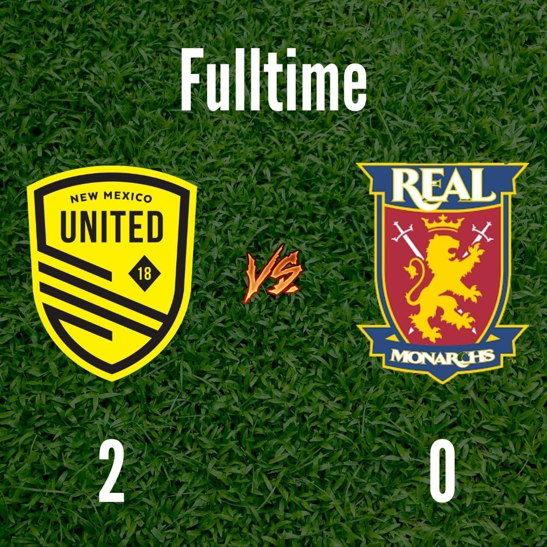 United pick up 2-0 win over Real Monarchs, magic number drops to 3