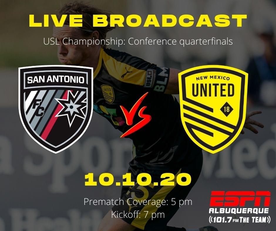 United's playoff run begins in San Antonio
