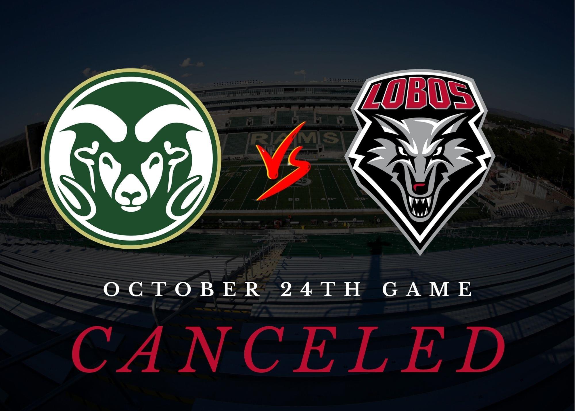 UNM's season opener against CSU canceled