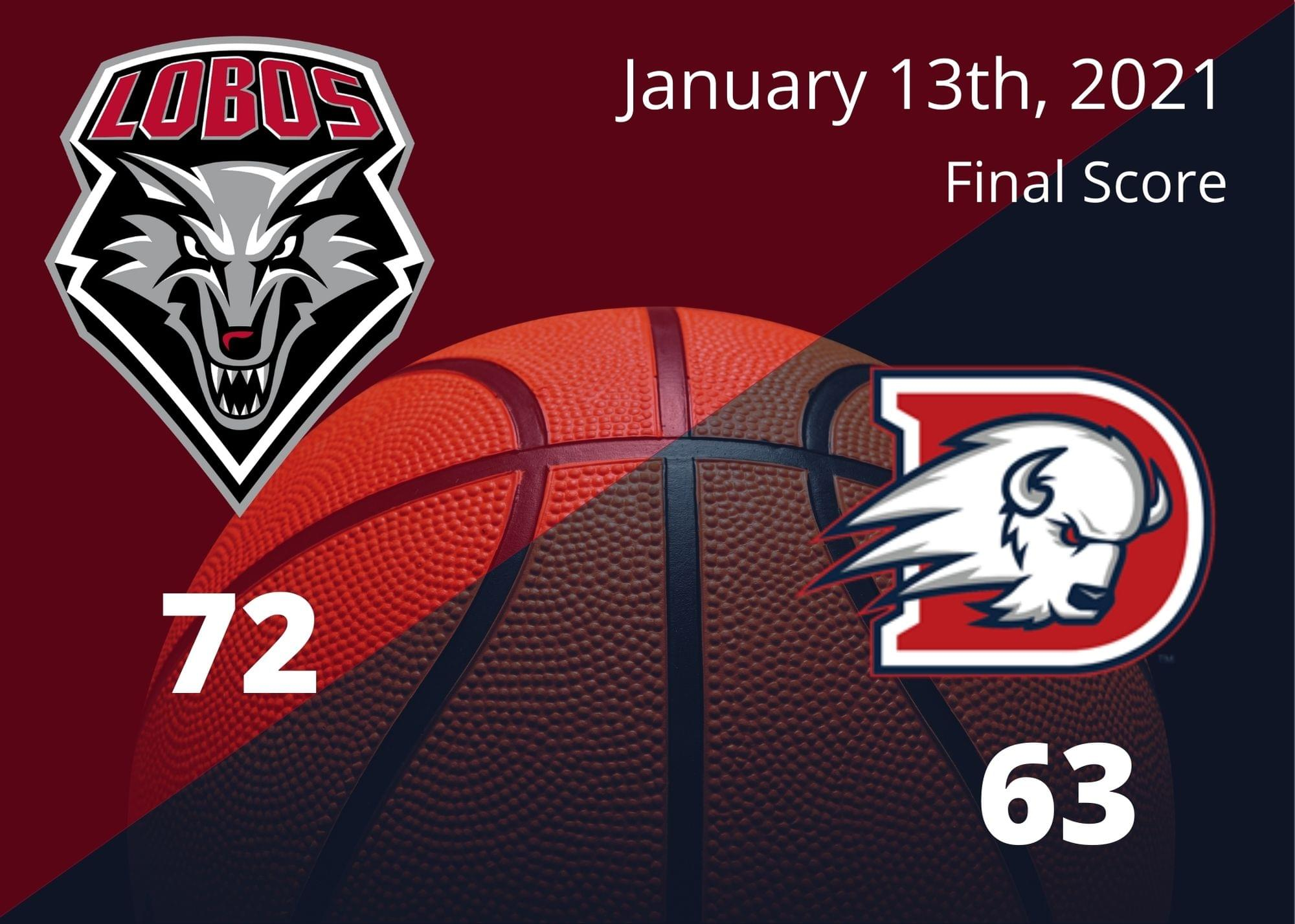 Saquan Singleton scores 17 to lead UNM over Dixie State 72-63