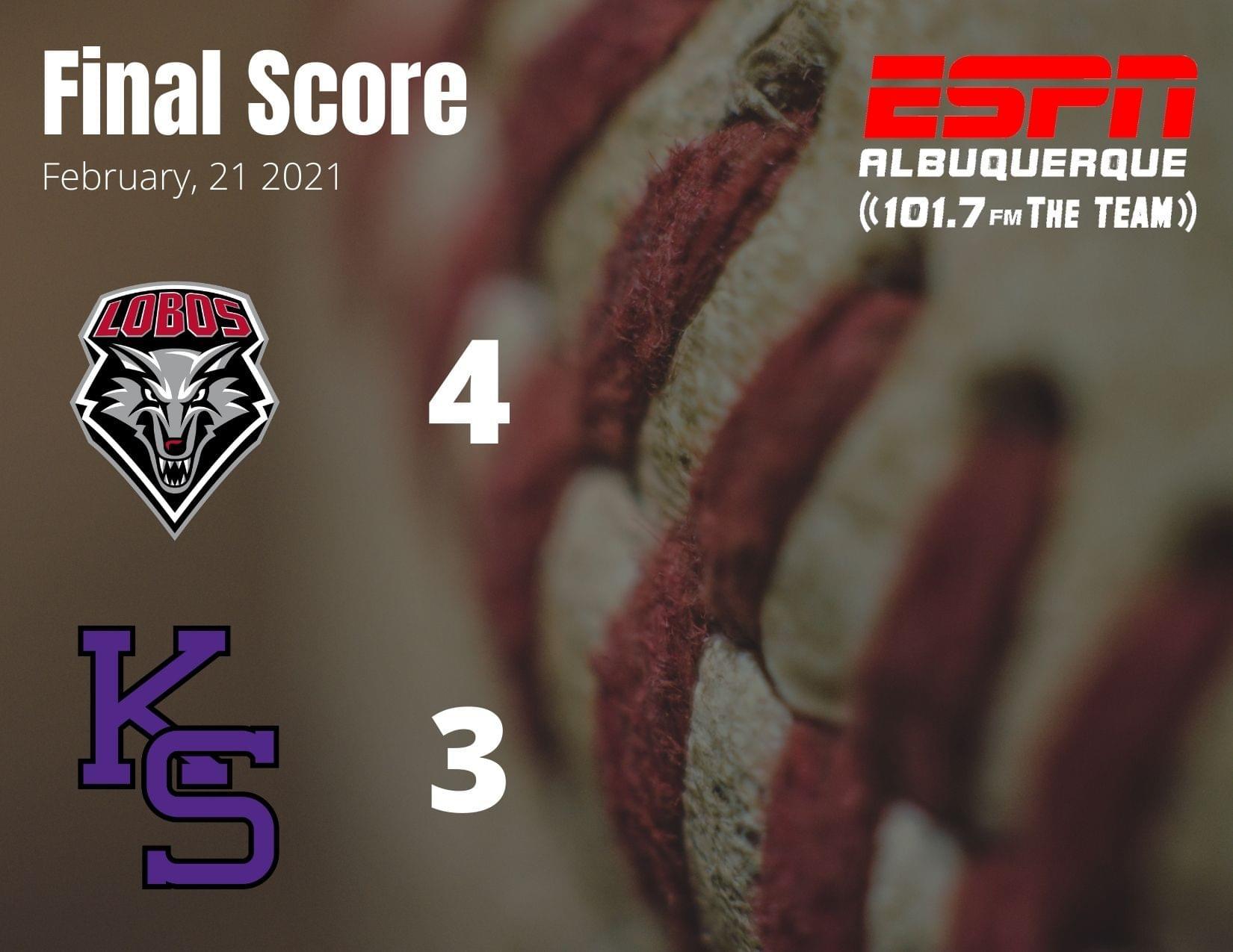 UNM Baseball: Lobos score walk-off run in the ninth to beat Kansas State 4-3