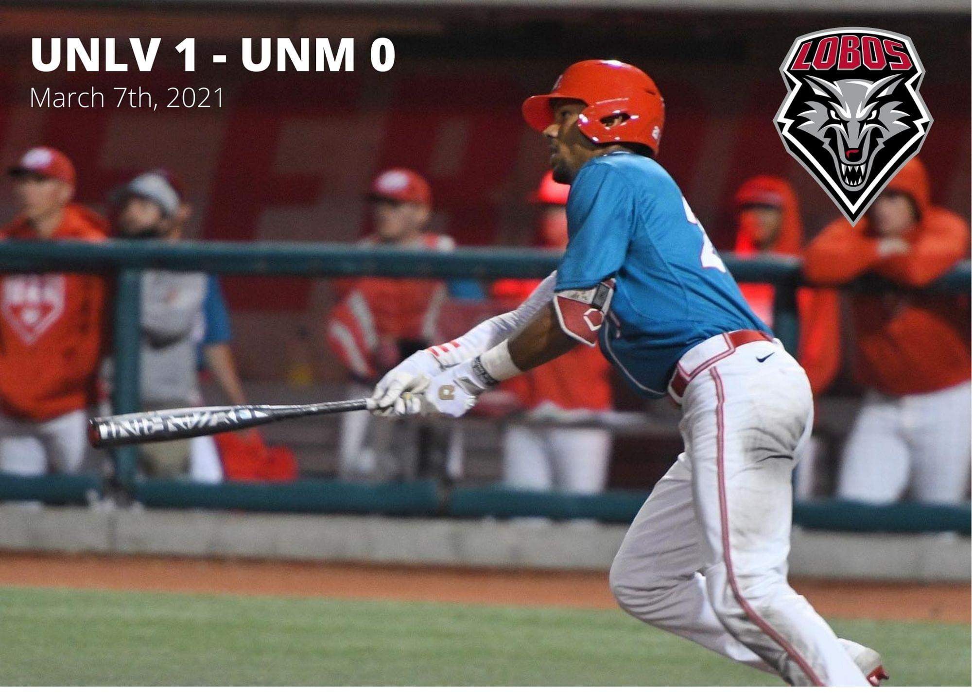 UNM Baseball: Lobos fall to UNLV 1-0 in 11 innings