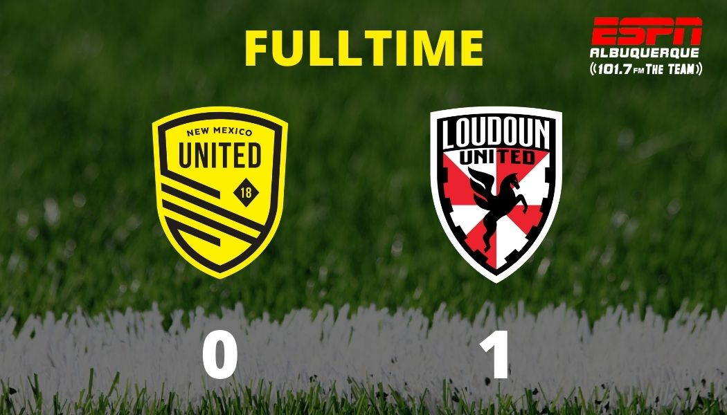 Early red card dooms United as they fall to Loudoun 0-1