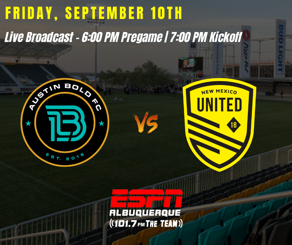 United regaining confidence as they face Austin Bold FC