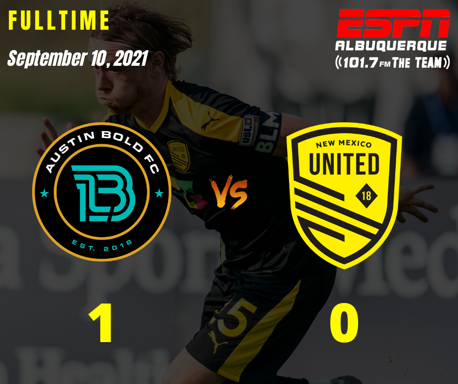 Late penalty and lack of spark lead to defeat for United in Austin