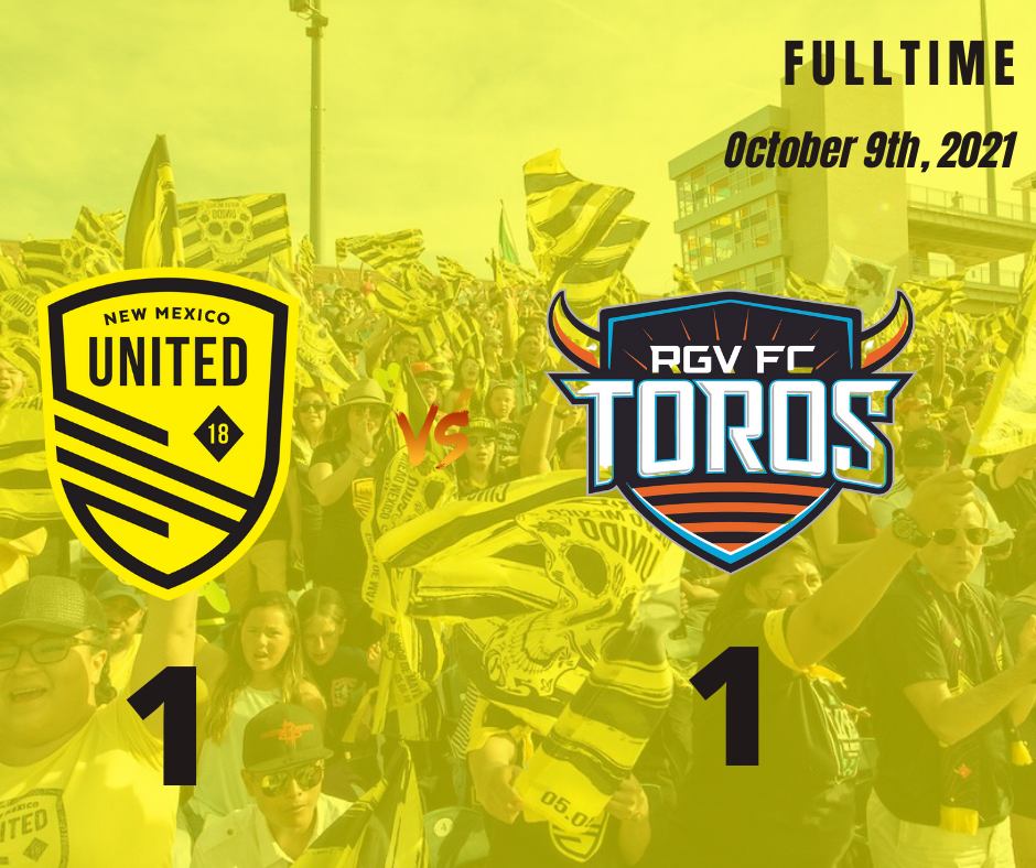 United move up to fourth after 1-1 draw with RGV FC
