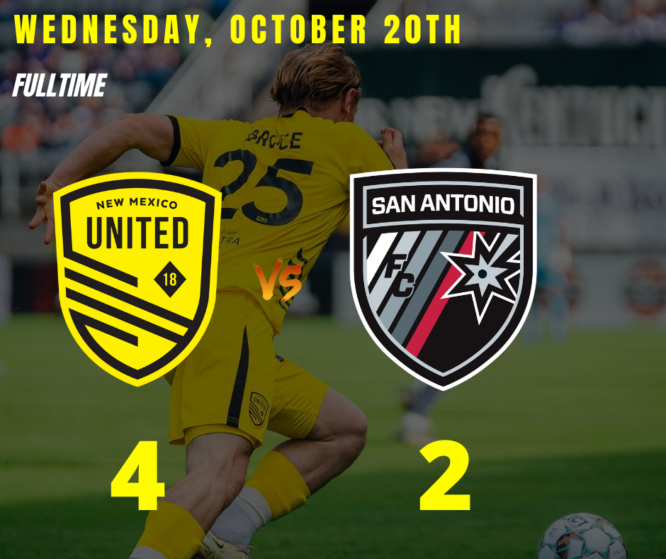 United come from behind in 4-2 win over San Antonio