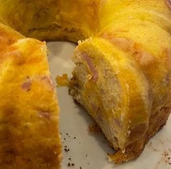 Bundt Pan Breakfast Bake