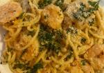 Parmesan Shrimp Scampi