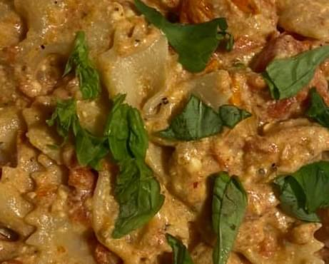 Baked Feta Pasta with Chicken