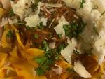 Slow Cooker Shredded Beef Ragu Pappardelle