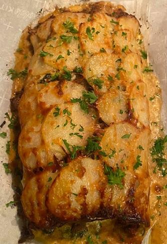 Scalloped Potato Beef Roll