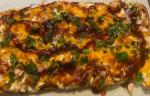 BBQ Chicken Flat Bread Pizza