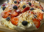 Berry Pistachio Cream Pie