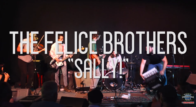 """VIDEO: The Felice Brothers """"Sally!"""" – 6/24/16"""