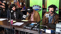 The Avett Brothers Interview in the Broadcast Booth at Mountain Jam 2013