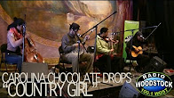 "Carolina Chocolate Drops Performing ""Country Girl"" – Radio Woodstock 100.1 – 3/6/12 RadioWoodstock  RadioWoodsto"
