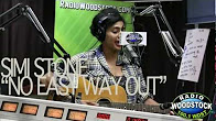 """Simi Stone Performing """"No Easy Way Out"""" LIVE – Radio Woodstock – 5/23/12"""