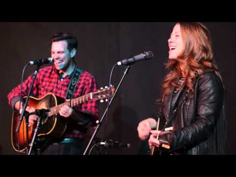 """The Lone Bellow performing """"Cold As It Is"""" – 2/26/16"""