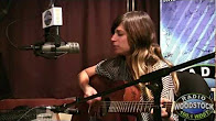 """Nicole Atkins Performing """"Cry Cry Cry"""" – Radio Woodstock 100.1 WDST – 10/7/11"""