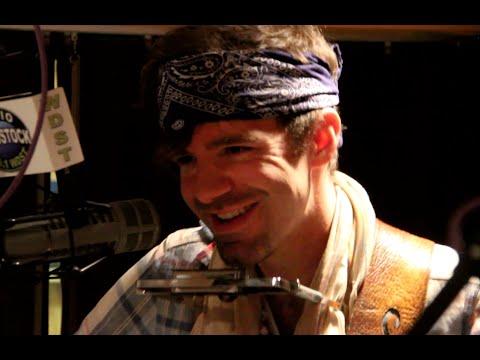 "Stephen Kellogg performing ""Wallpaper Angel"" at Radio Woodstock 100.1 12/28/15"