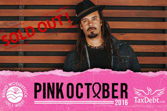 Michael Franti Pink October Benefit Concert